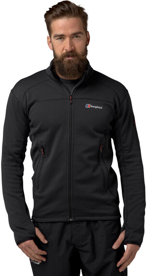 Berghaus Pravitale 2.0 Fleece Jacket Men Carbon/Black